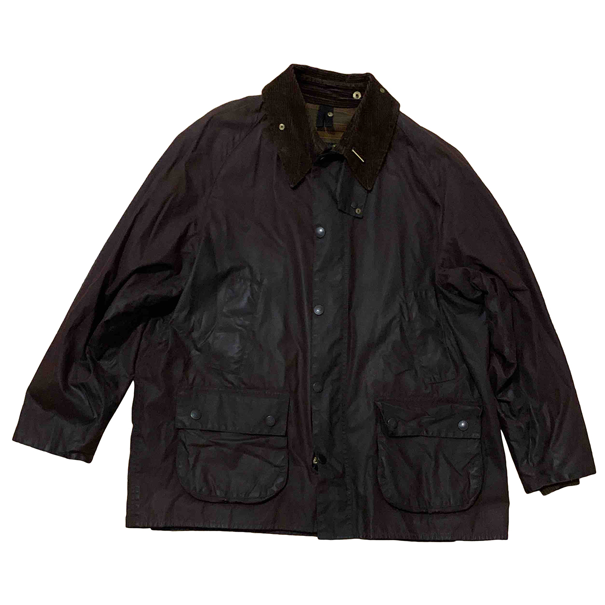Barbour N Brown Leather jacket  for Men 46 IT