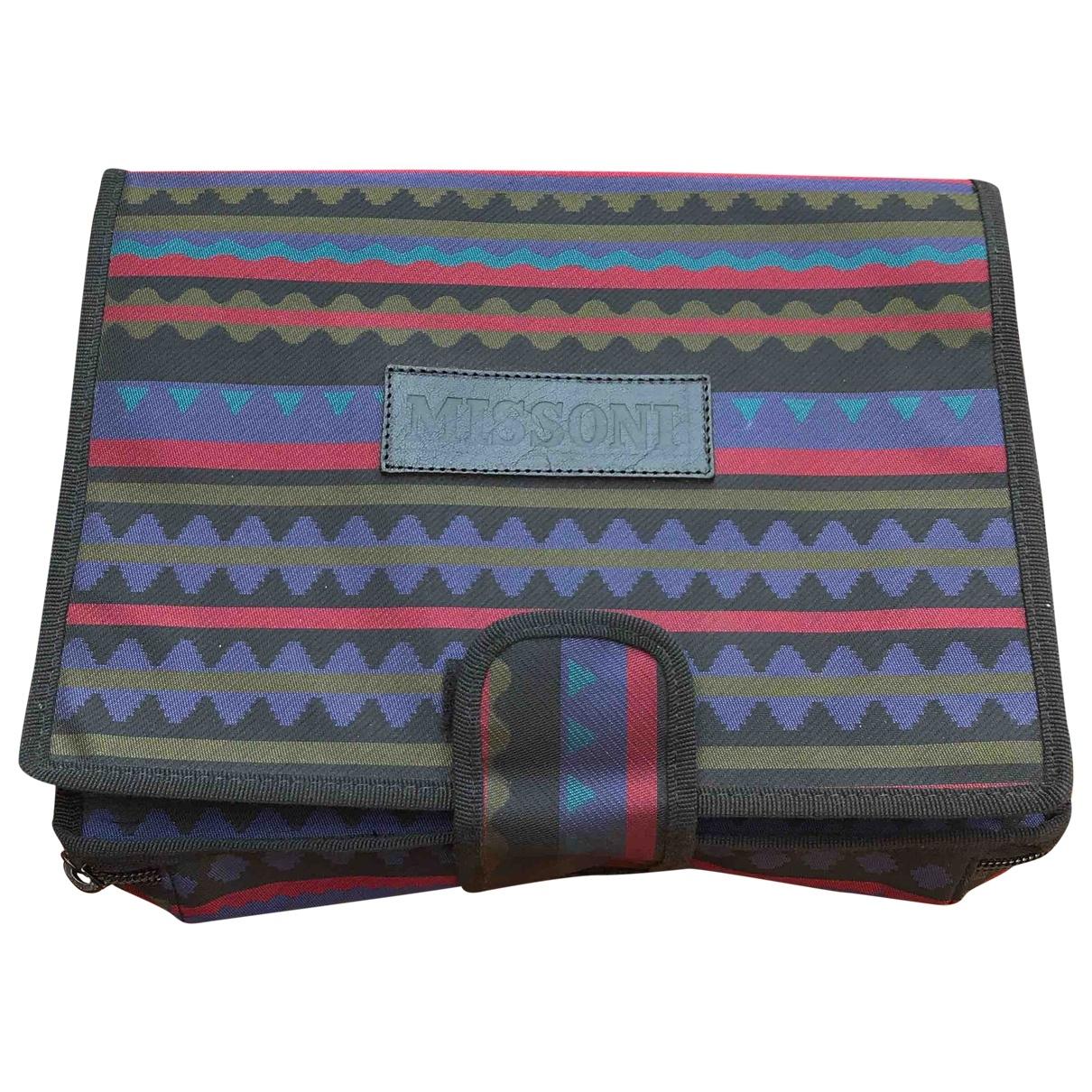Bolsos clutch en Sintetico Multicolor Missoni