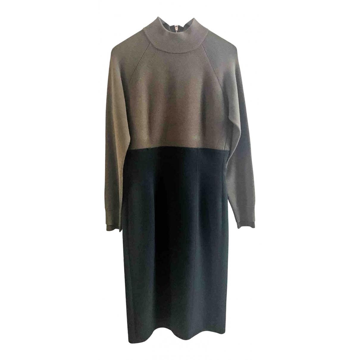 Burberry \N Kleid in  Schwarz Baumwolle - Elasthan