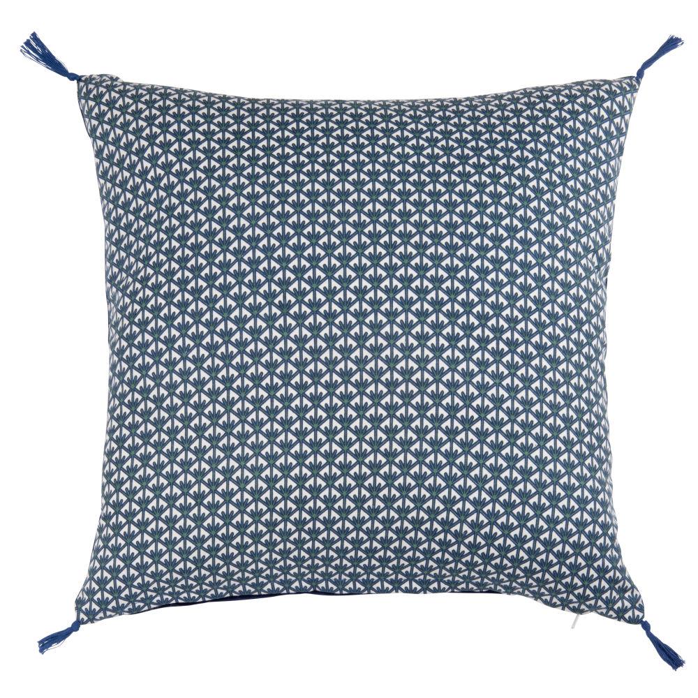 Kissenbezug aus Baumwolle mit bunten grafischen Motiven 40x40
