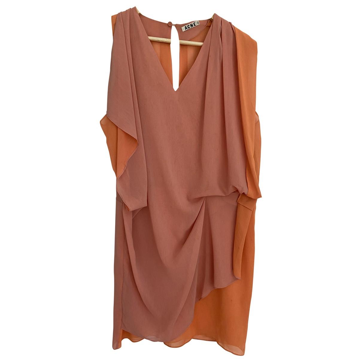 Acne Studios - Robe   pour femme - orange