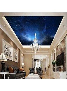 3D Gloomy Galaxy Printed Waterproof Durable Eco-friendly Self-Adhesive Ceiling Murals