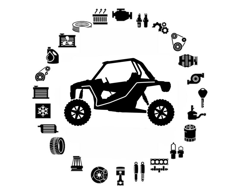 Can-AM OEM Decal, X | X Carbon/Black Model