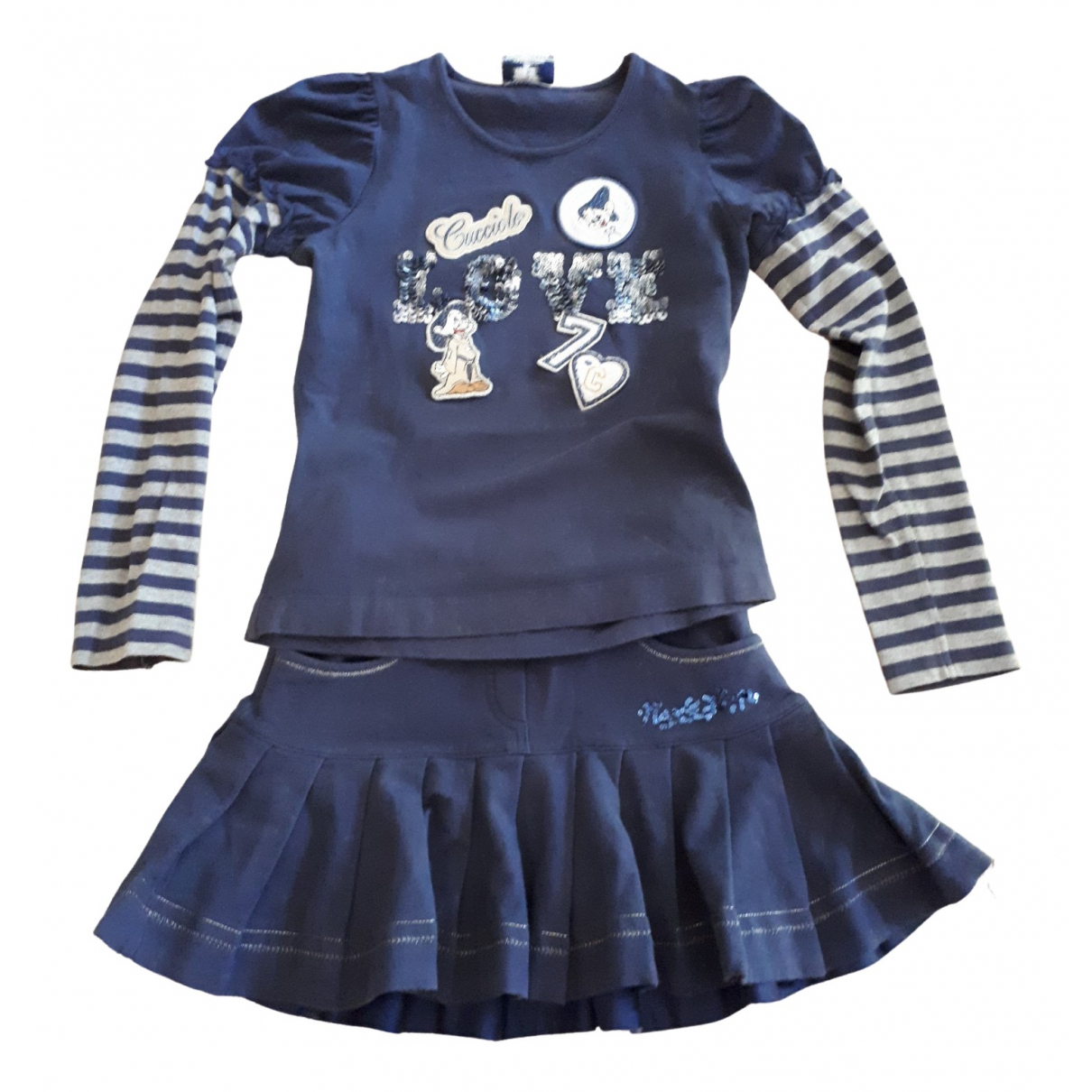 Monnalisa \N Blue Cotton Outfits for Kids 10 years - up to 142cm FR