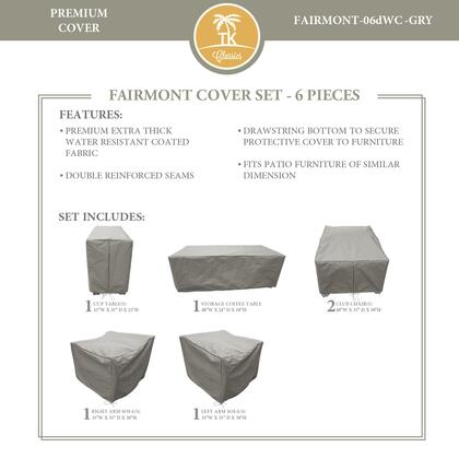 FAIRMONT-06dWC-GRY Protective Cover Set  for FAIRMONT-06d in