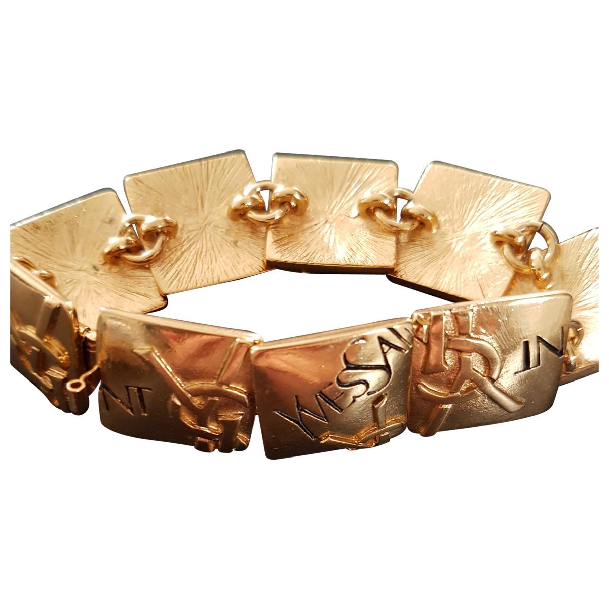 Yves Saint Laurent - Bracelet   pour femme en vermeil - dore