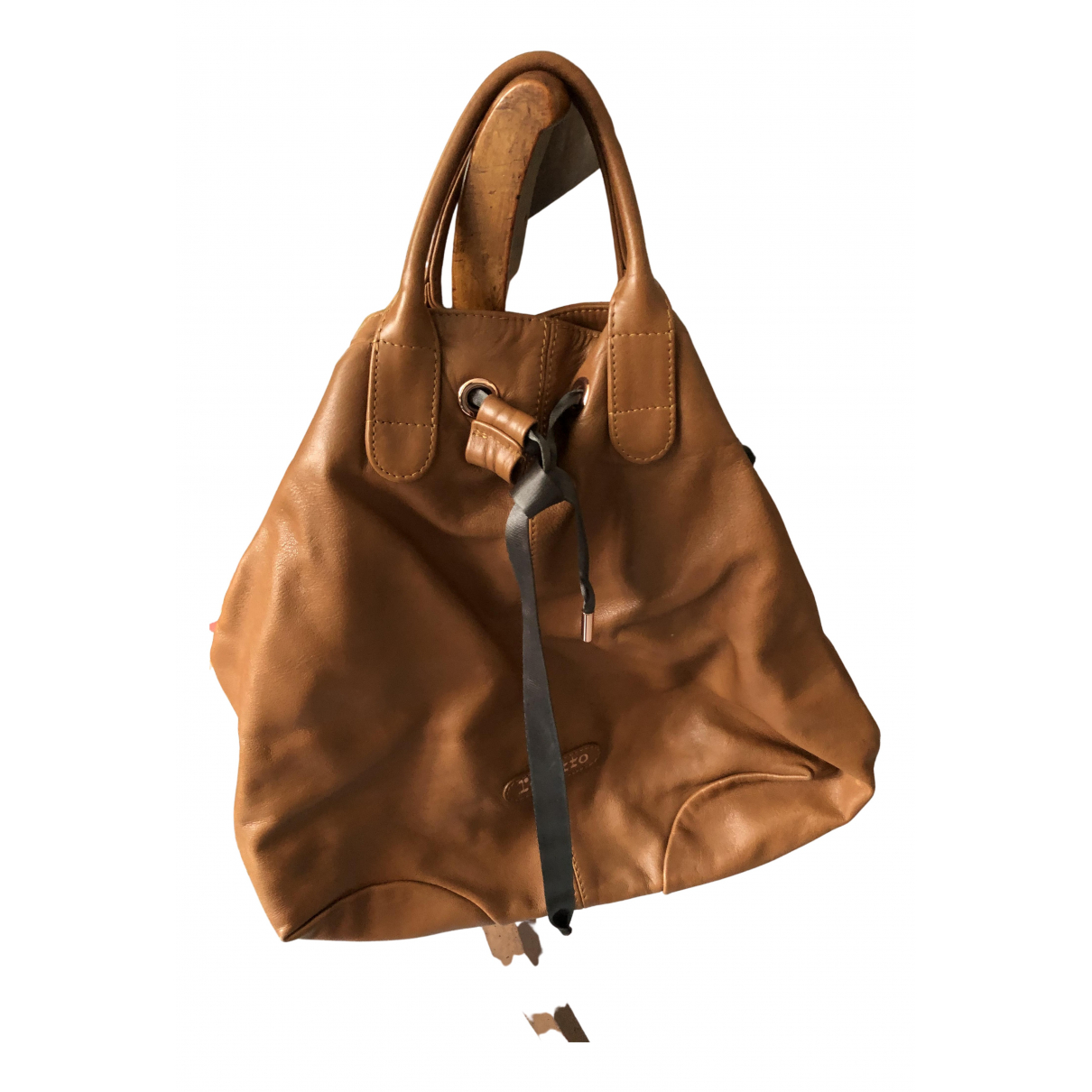 Repetto N Camel Leather handbag for Women N
