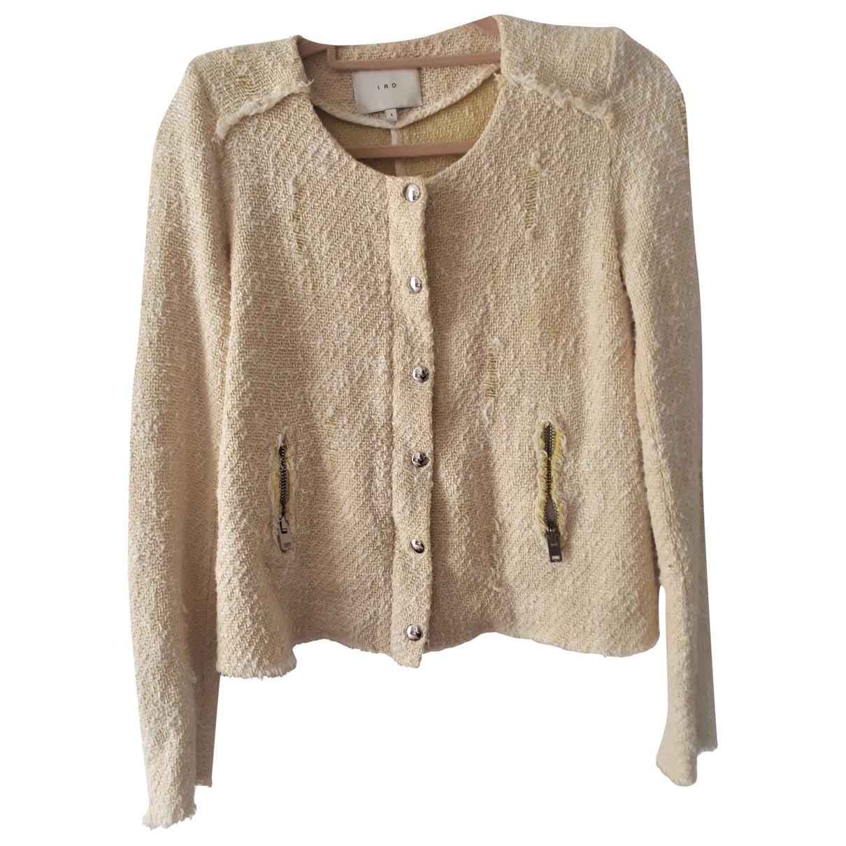 Iro - Veste   pour femme en coton - jaune