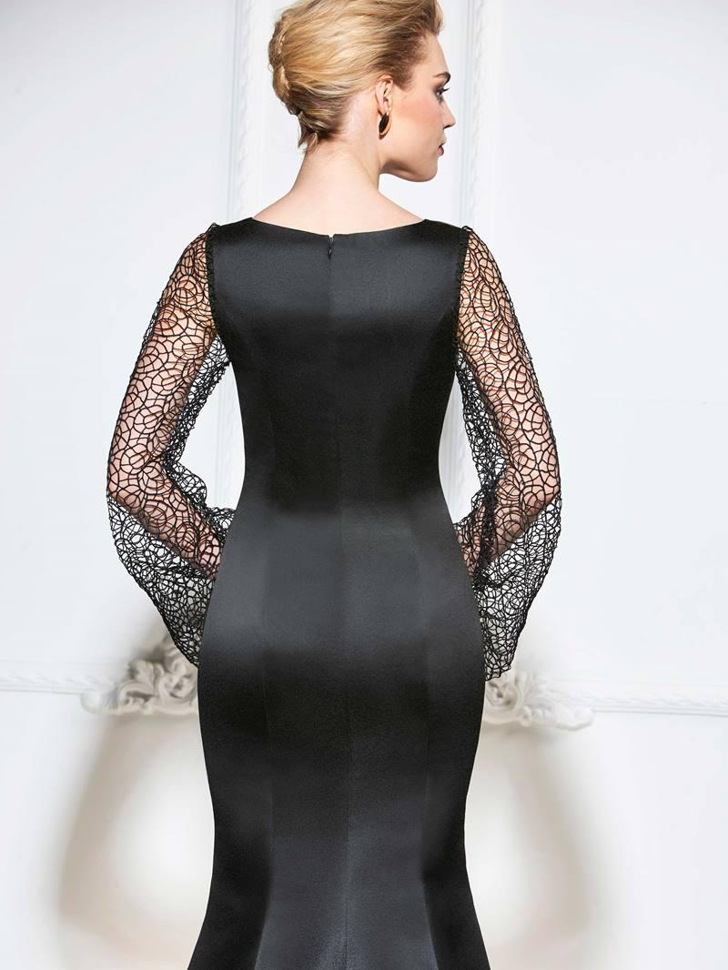 Ericdress Lace Long Sleeve Mermaid Evening Dress