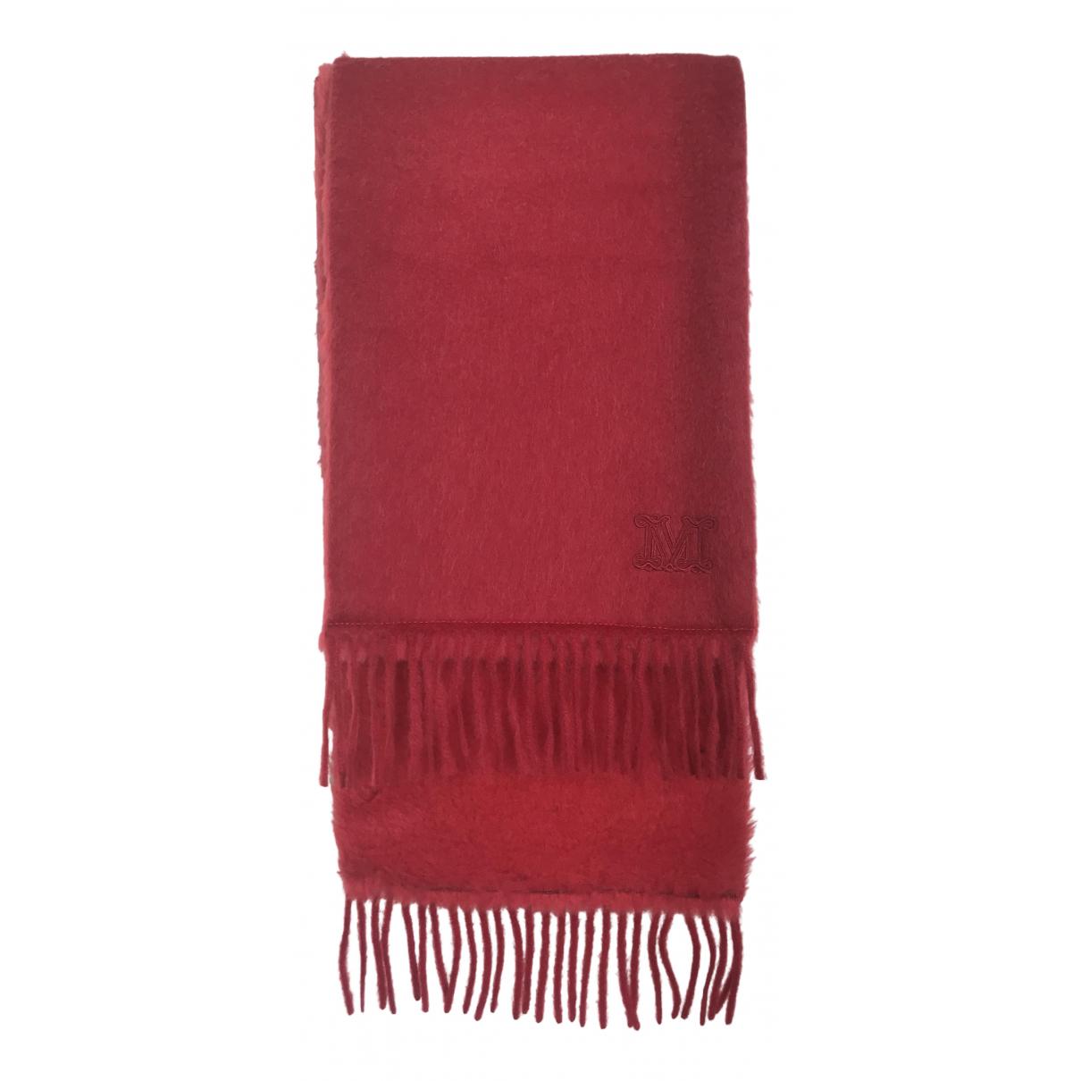 Max Mara Max Mara Atelier Red Wool scarf for Women \N