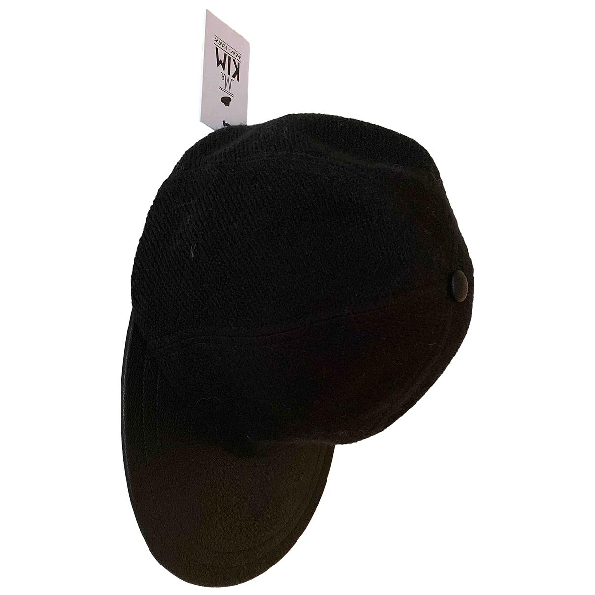 Eugenia Kim - Chapeau & Bonnets   pour homme en cuir - noir
