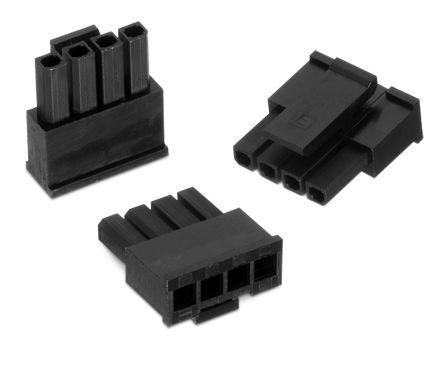 Wurth Elektronik , WR-MPC3 Female Connector Housing, 3mm Pitch, 2 Way, 1 Row (5)