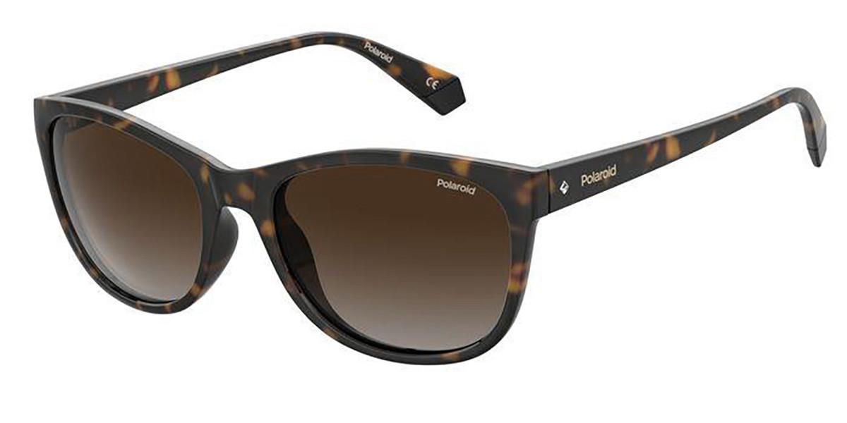 Polaroid PLD 4099/S 086/LA Women's Sunglasses Tortoise Size 55