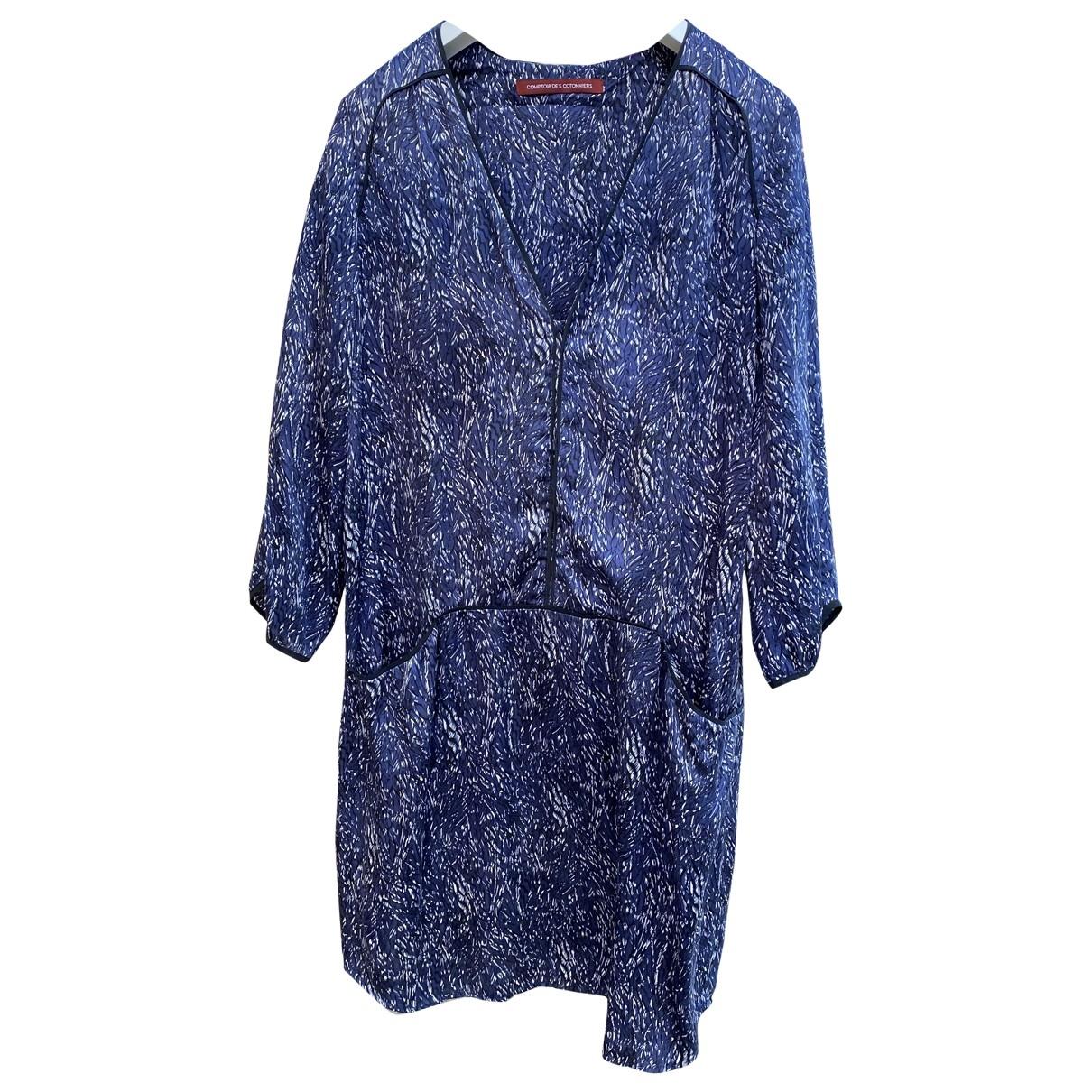 Comptoir Des Cotonniers \N Kleid in  Grau Seide