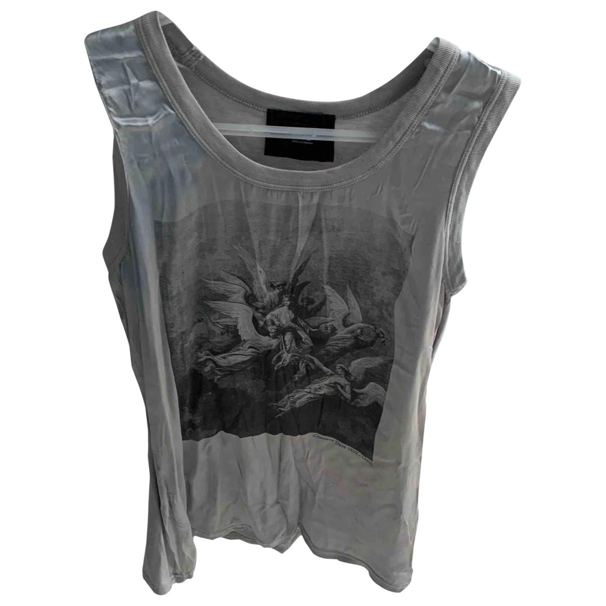 D&g \N Silver Silk  top for Women 40 FR