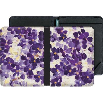 tolino vision 3 HD eBook Reader Huelle - Violet Bloom von Amy Sia
