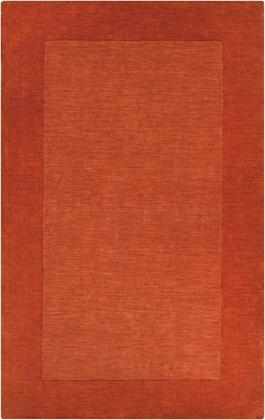 Mystique M-300 6' x 9' Rectangle Modern Rug in Burnt