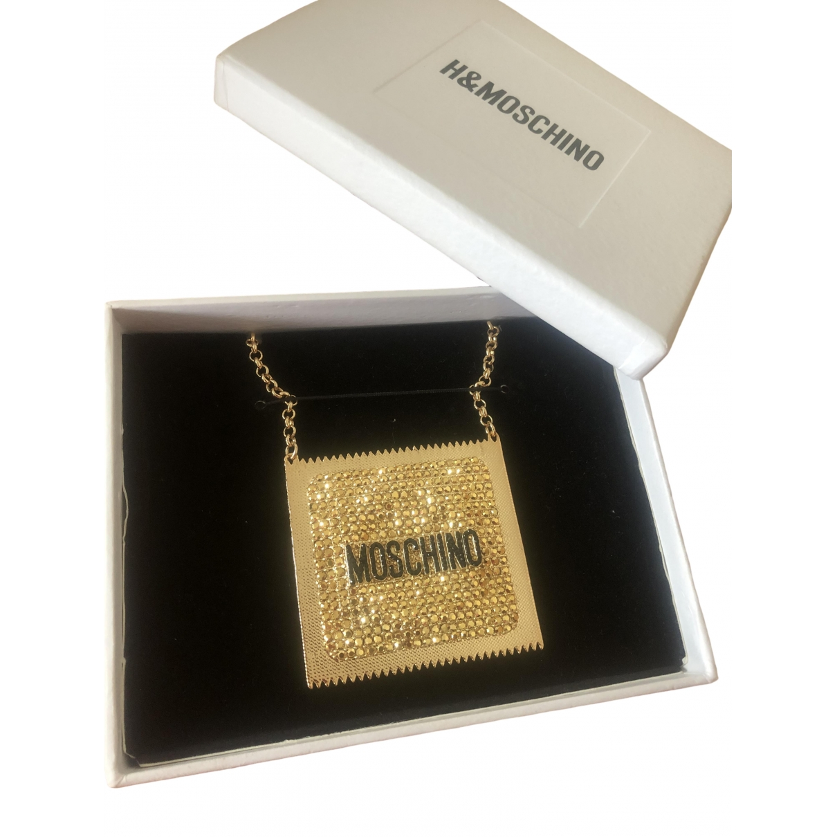 Moschino For H&m \N Halskette in  Gold Metall