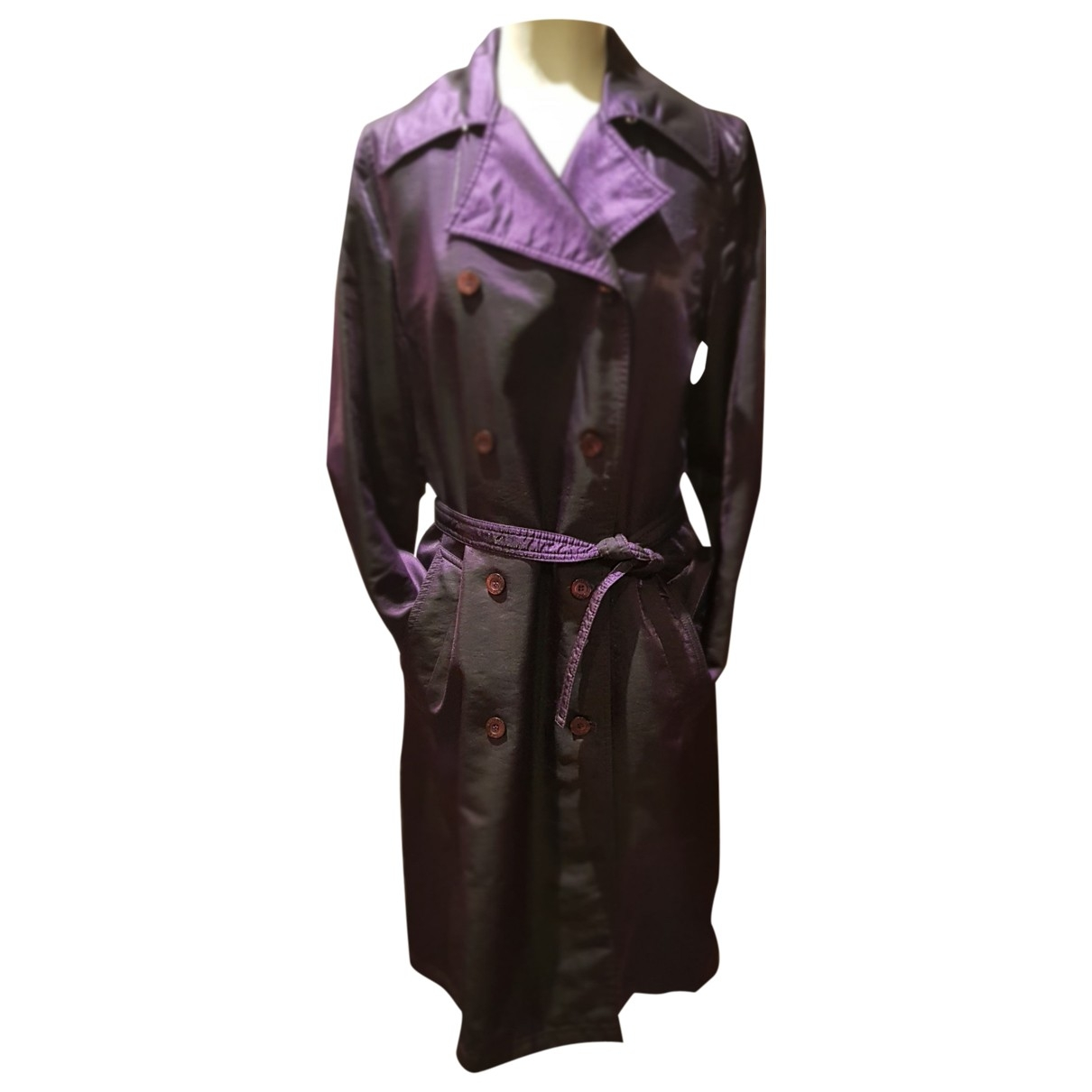 Moschino Cheap And Chic - Trench   pour femme - violet