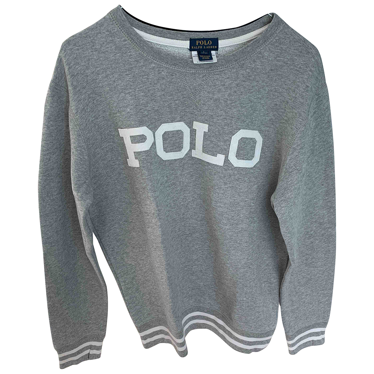 Polo Ralph Lauren N Grey Cotton Knitwear for Kids 18 years - L FR
