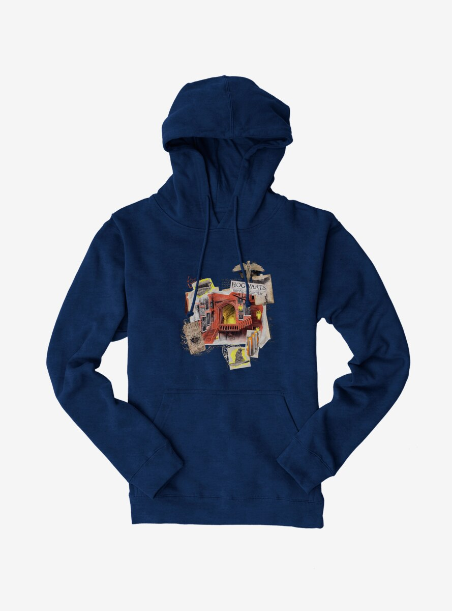 Harry Potter Hogwarts Staircase Collage Hoodie