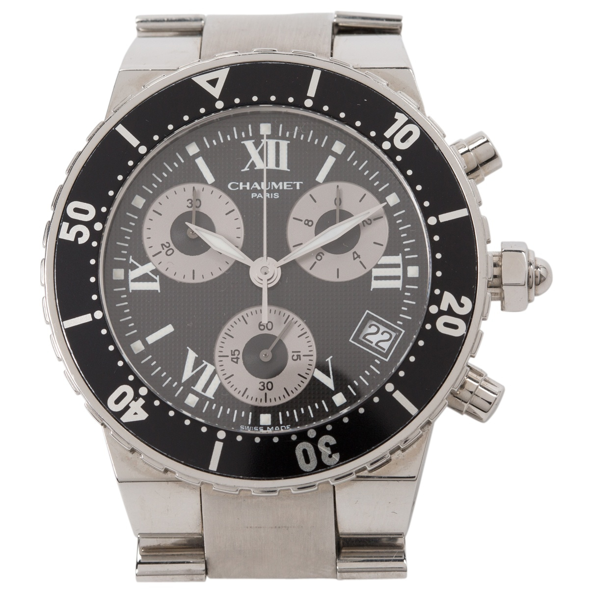 Chaumet Class One  Uhr in  Silber Stahl