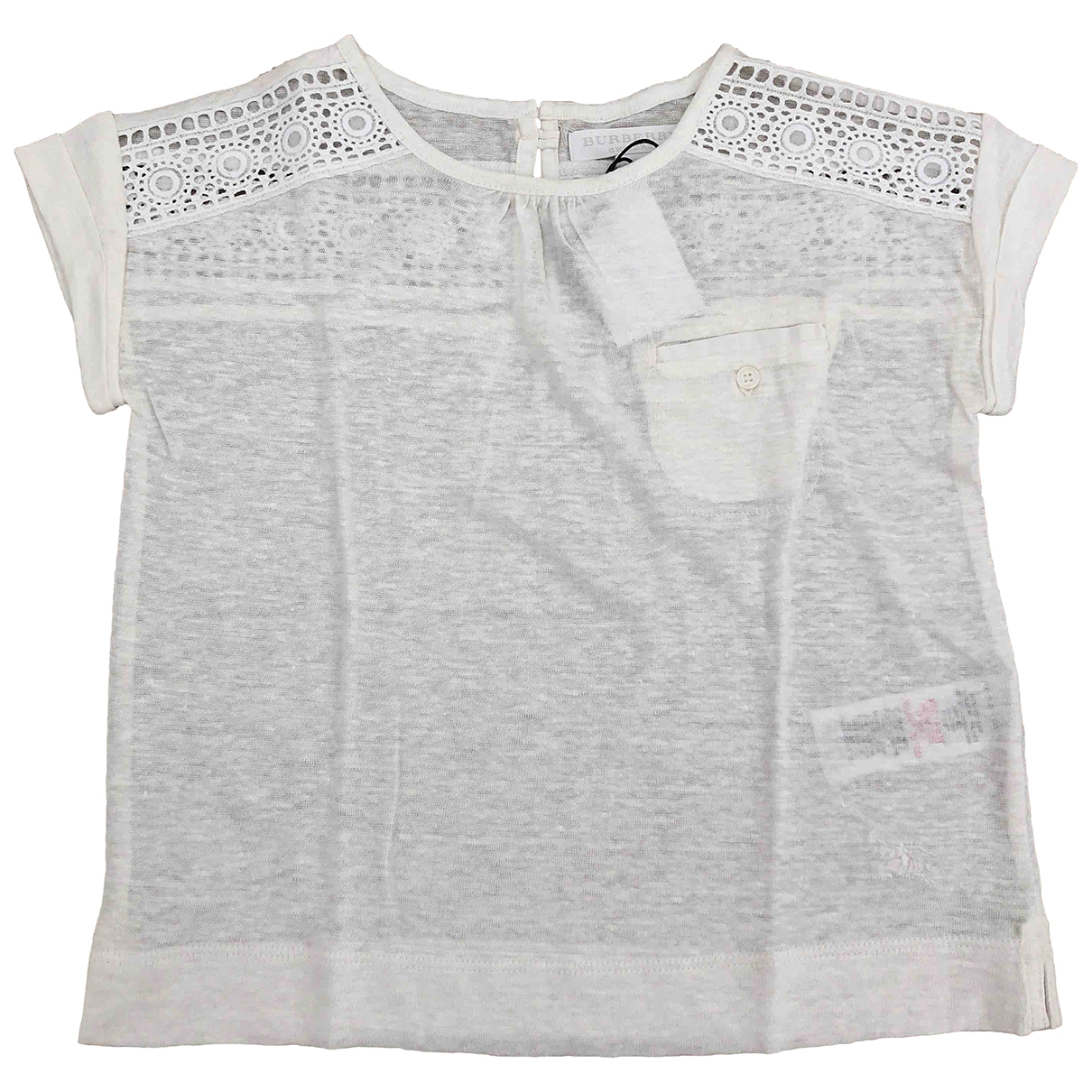 Burberry \N Ecru Cotton  top for Kids 4 years - up to 102cm FR