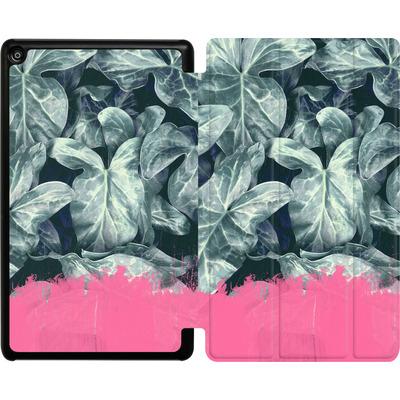 Amazon Fire HD 8 (2017) Tablet Smart Case - Sweet Pink on Jungle von Emanuela Carratoni