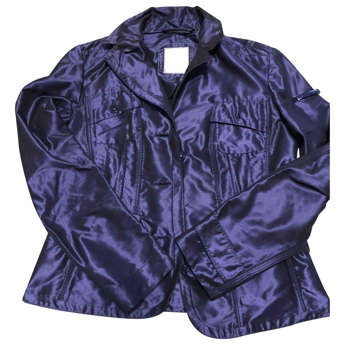 Peuterey - Veste   pour femme - bleu