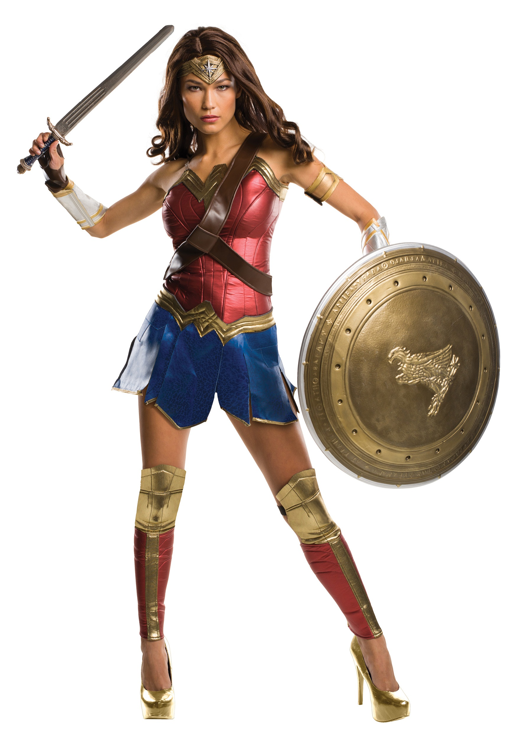 Wonder Woman Dawn of Justice Grand Heritage Costume for Women