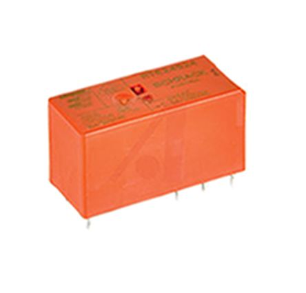 TE Connectivity , 24V Coil Non-Latching Relay DPDT, 8A Switching Current PCB Mount, 2 Pole