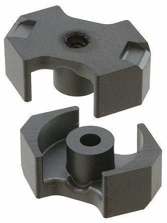 EPCOS N48 Ferrite Core, 250nH, 17.9 x 14.7 x 12.5mm, For Use With Resonant Circuit Inductors, Transformers (5)