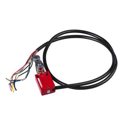 Telemecanique Sensors Preventa XCSM Safety Limit Switch With Lever Actuator, Zamak, 2NC/1NO