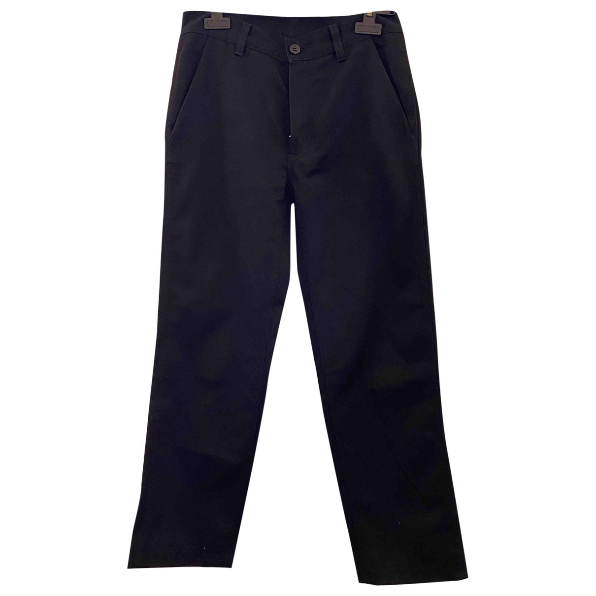 Pantalones en Algodon Negro Carhartt
