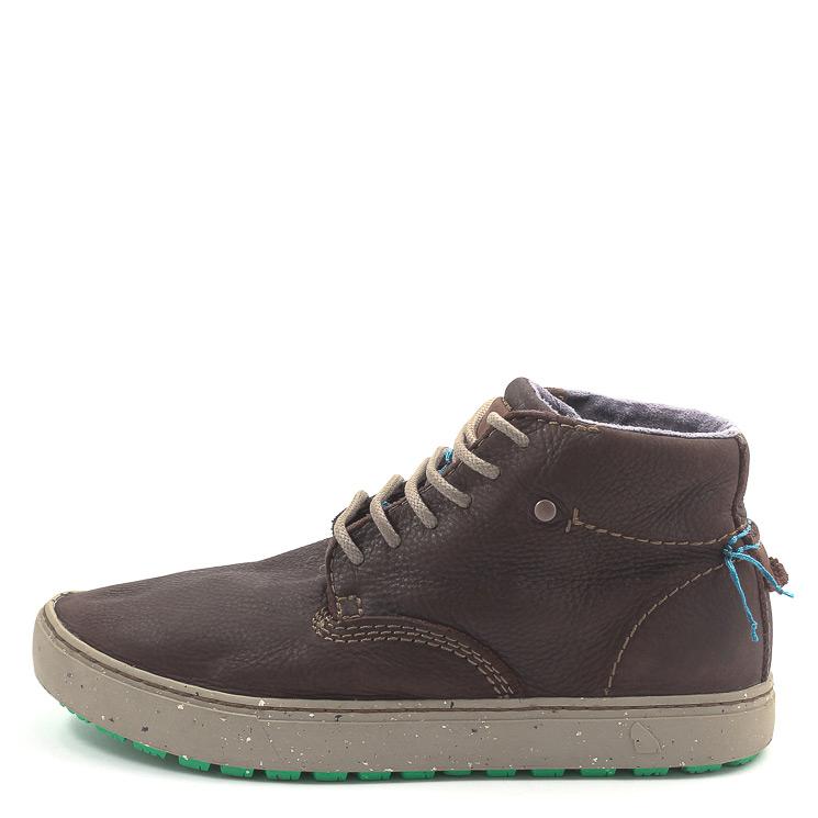 SATORISAN S.L., Wanaka Herren Hightop Sneaker, dunkelbraun Grosse 45