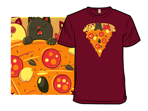 Pizza Cat T Shirt