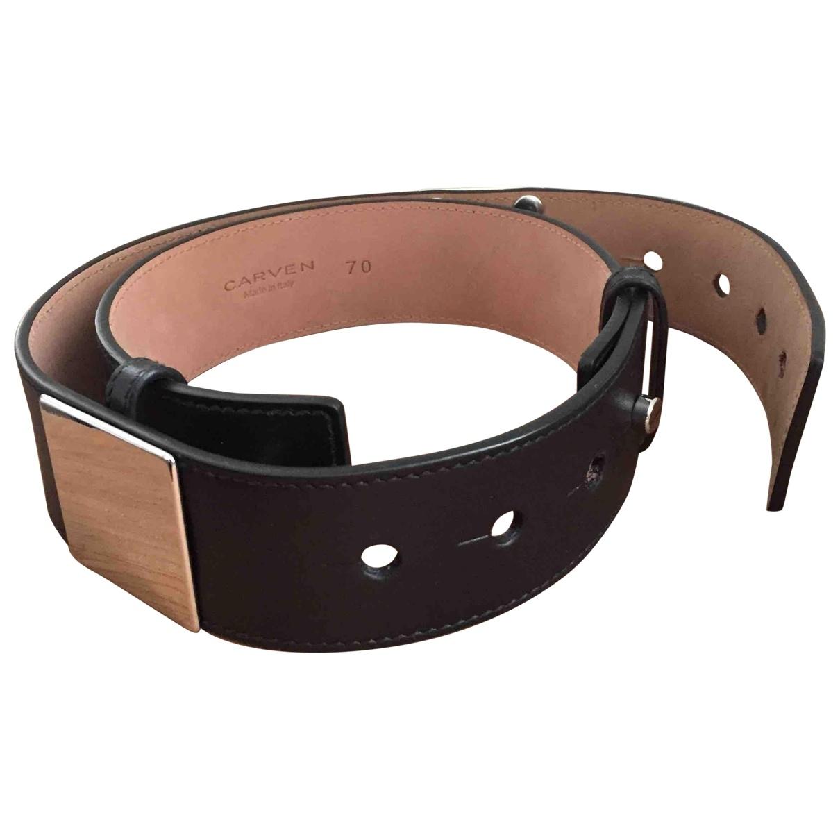 Cinturon de Cuero Carven