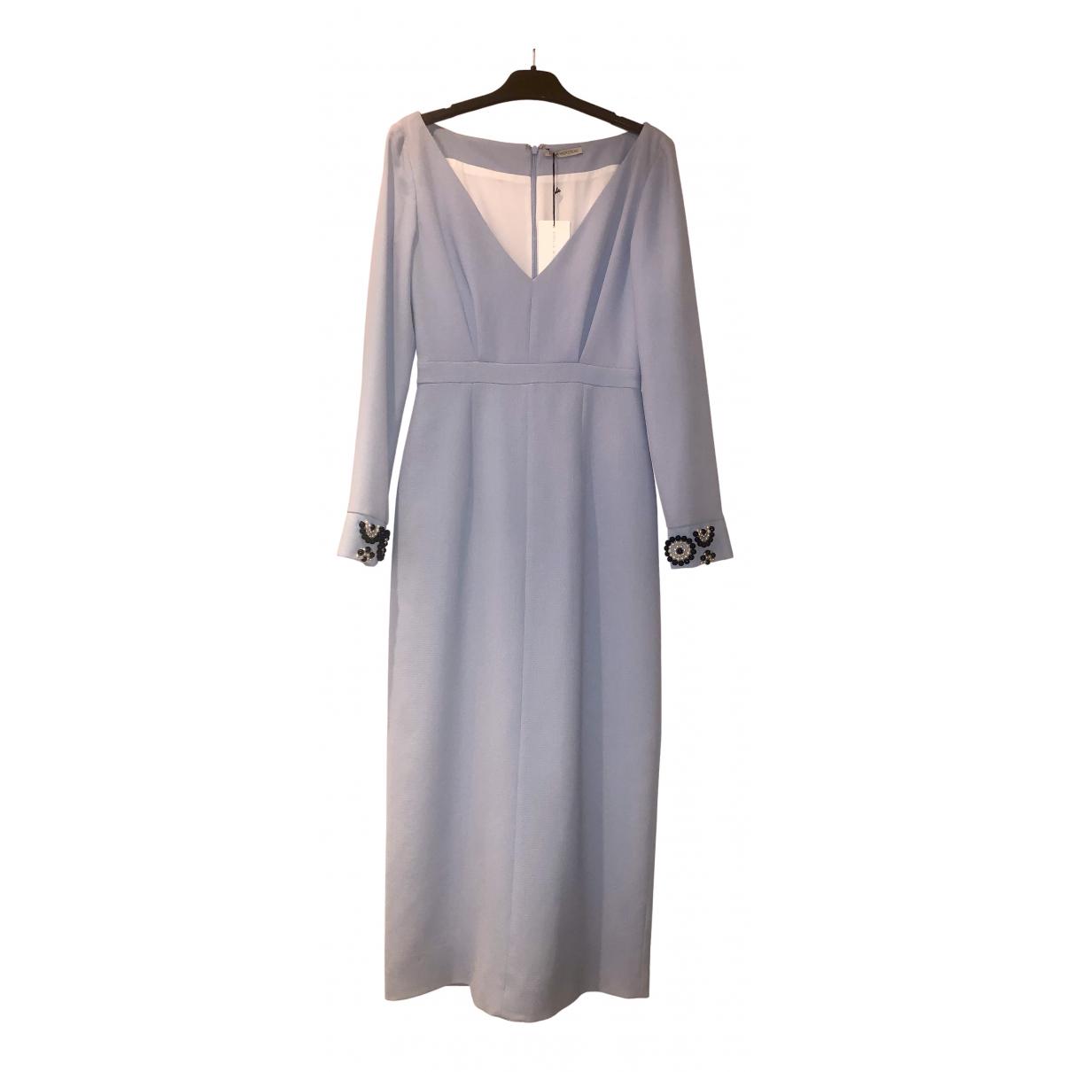 Emilia Wickstead N Blue Silk dress for Women 8 UK