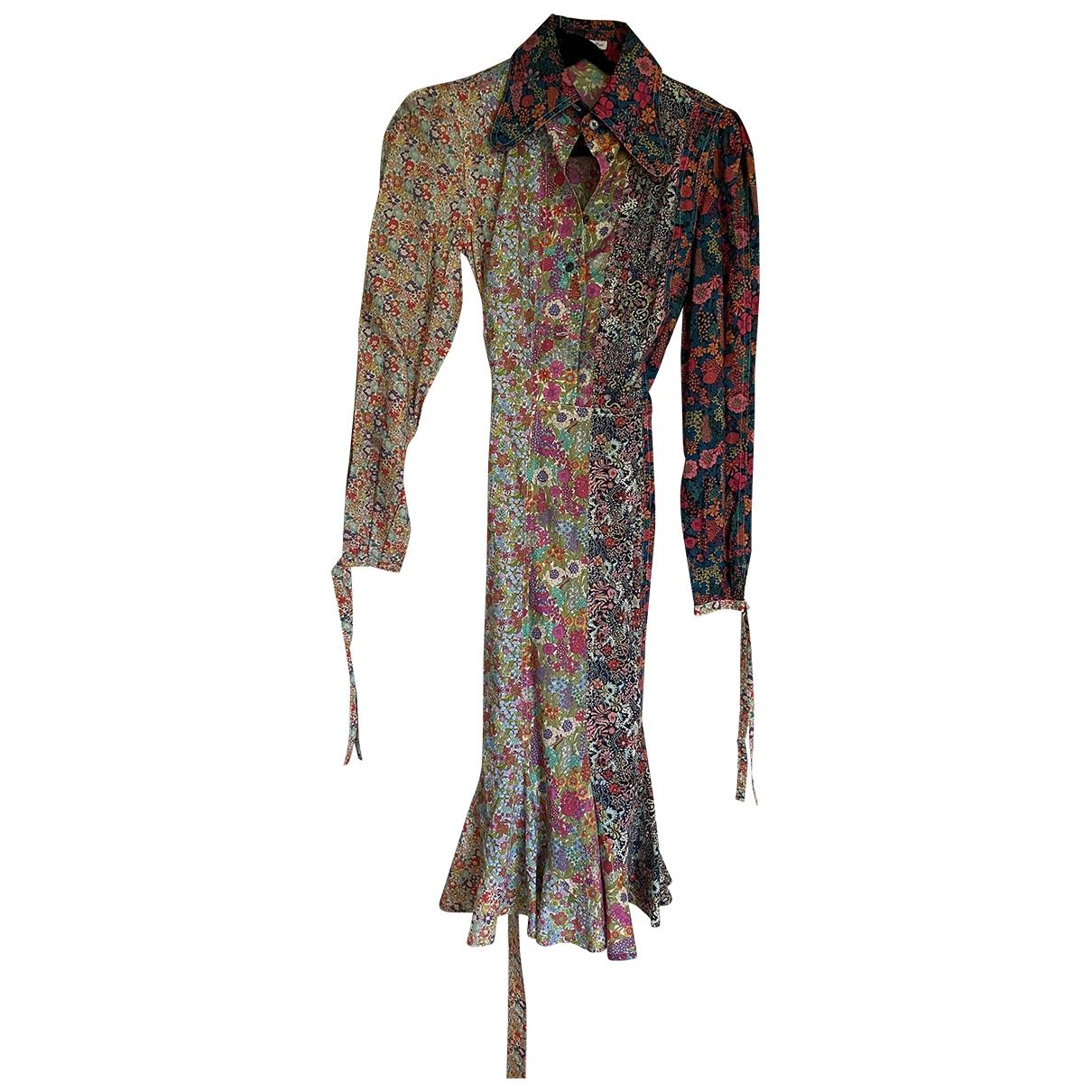 Olympia Le Tan \N Kleid in  Bunt Baumwolle