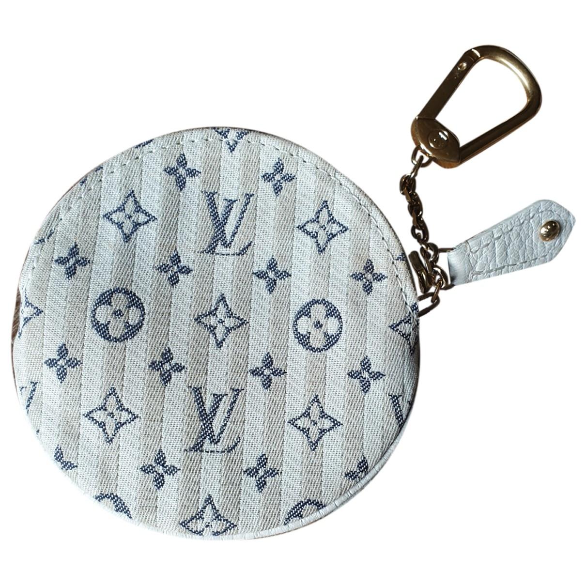 Louis Vuitton - Petite maroquinerie   pour femme en toile - beige