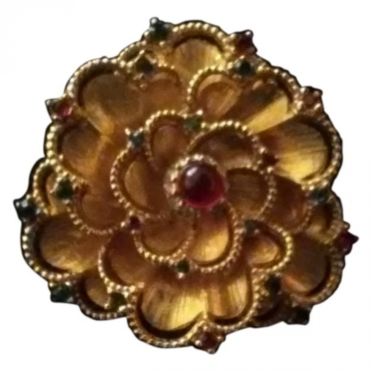 Carven \N Gold Gold plated Pins & brooches for Women \N