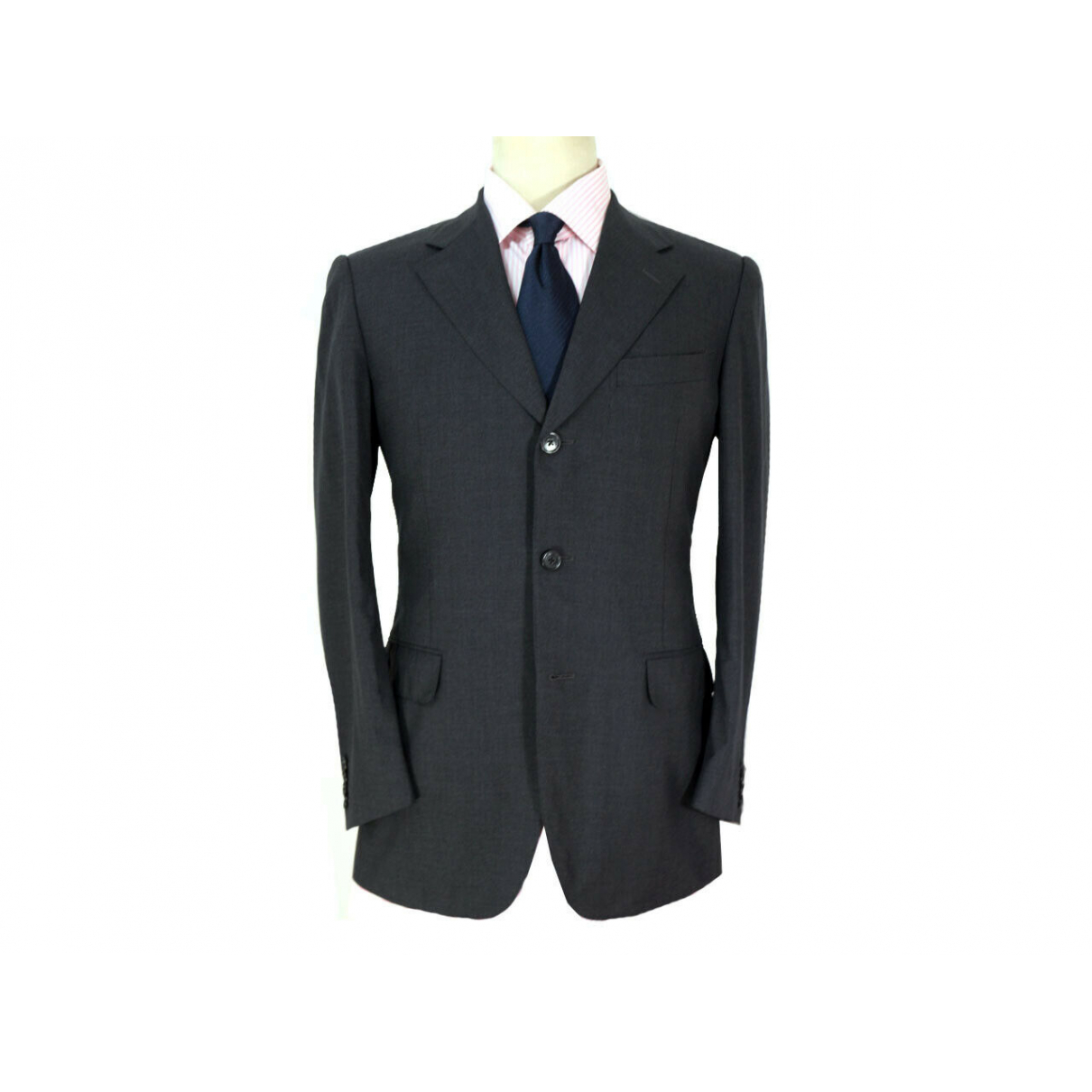 Corneliani \N Black Wool jacket  for Men 48 IT