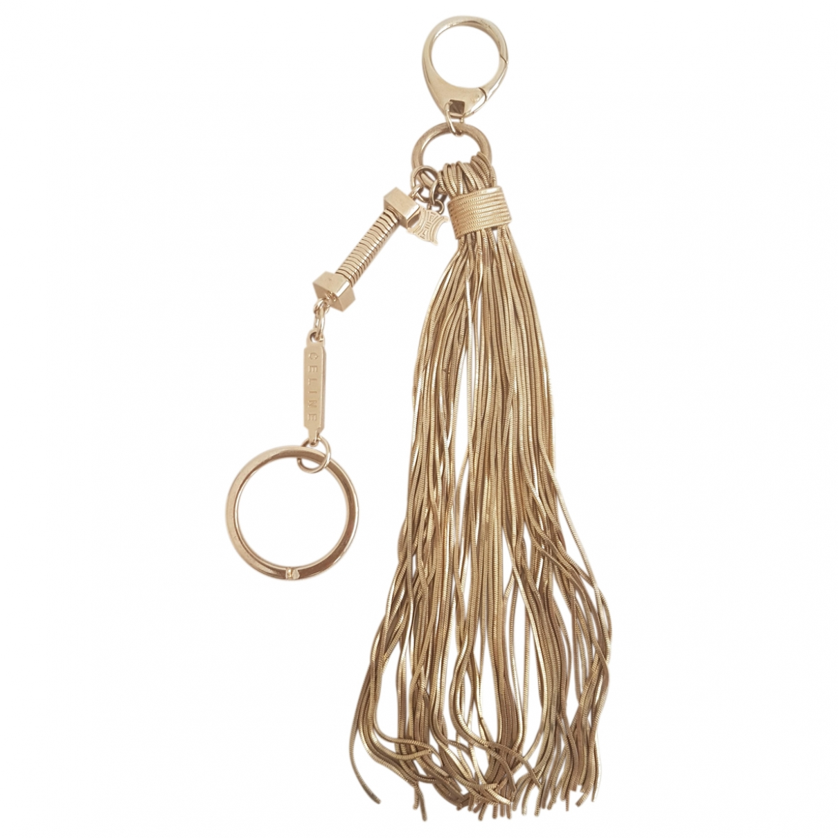 Celine - Bijoux de sac   pour femme en acier - dore