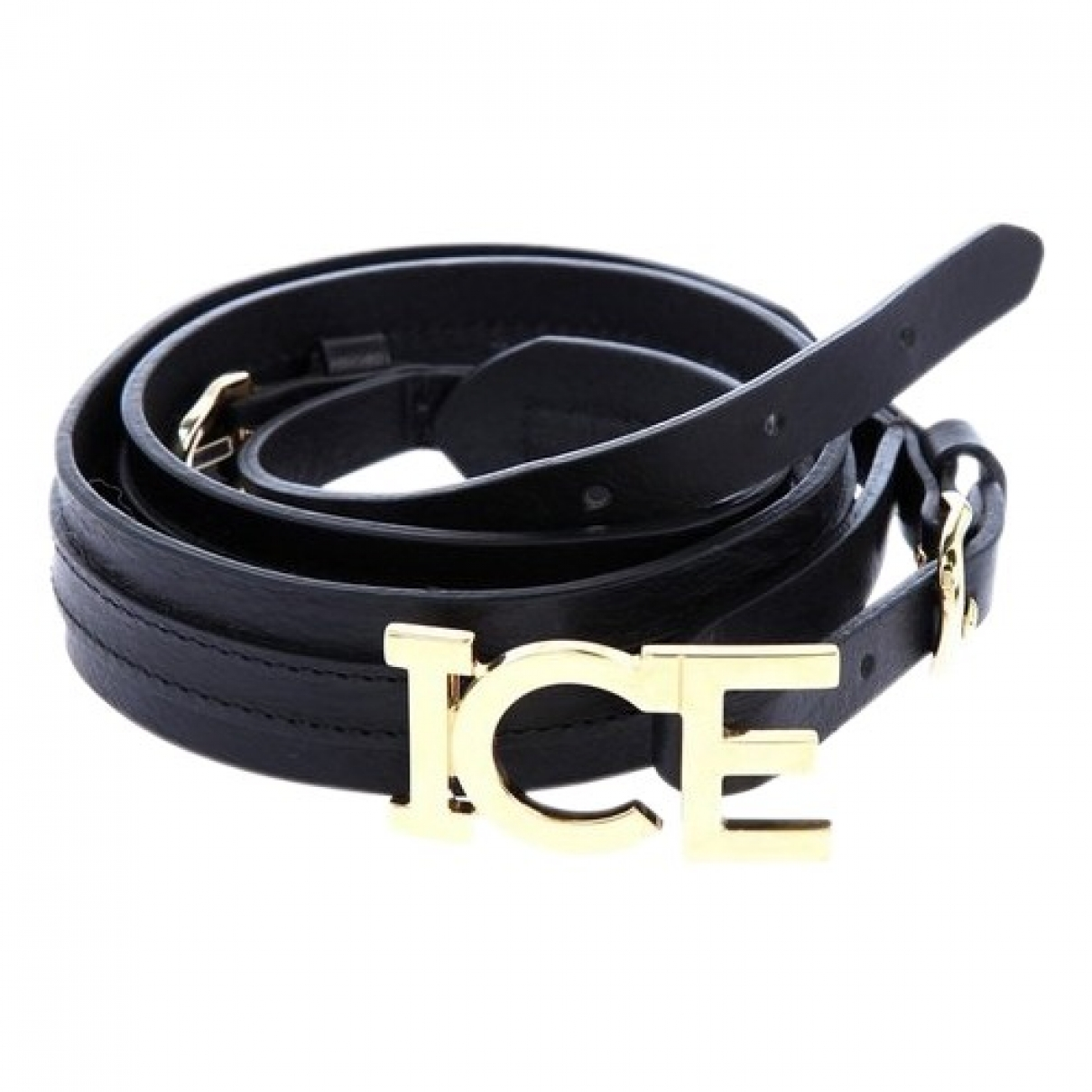 Iceberg \N Black Leather belt for Women 85 cm