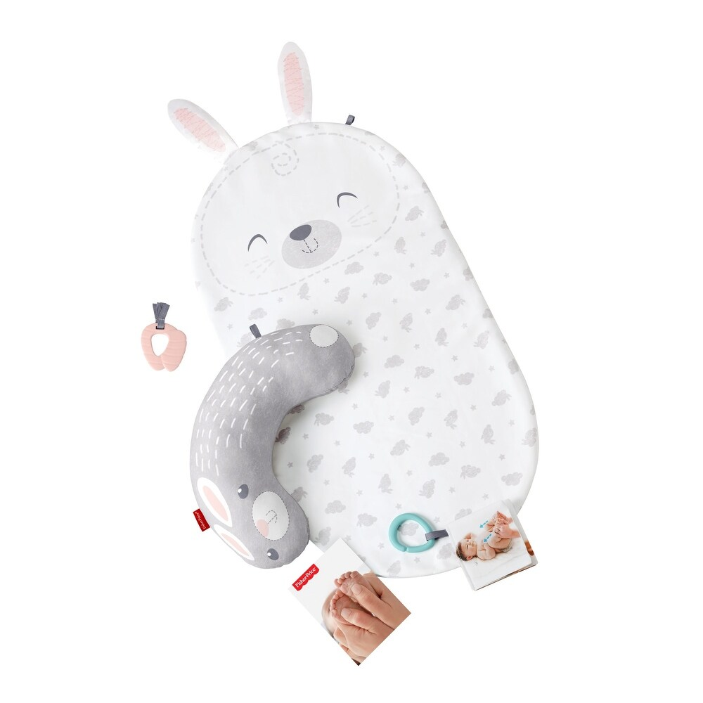 Fisher-Price Hoppy Dreams Baby Bunny Massage Set (0 to 6 months)