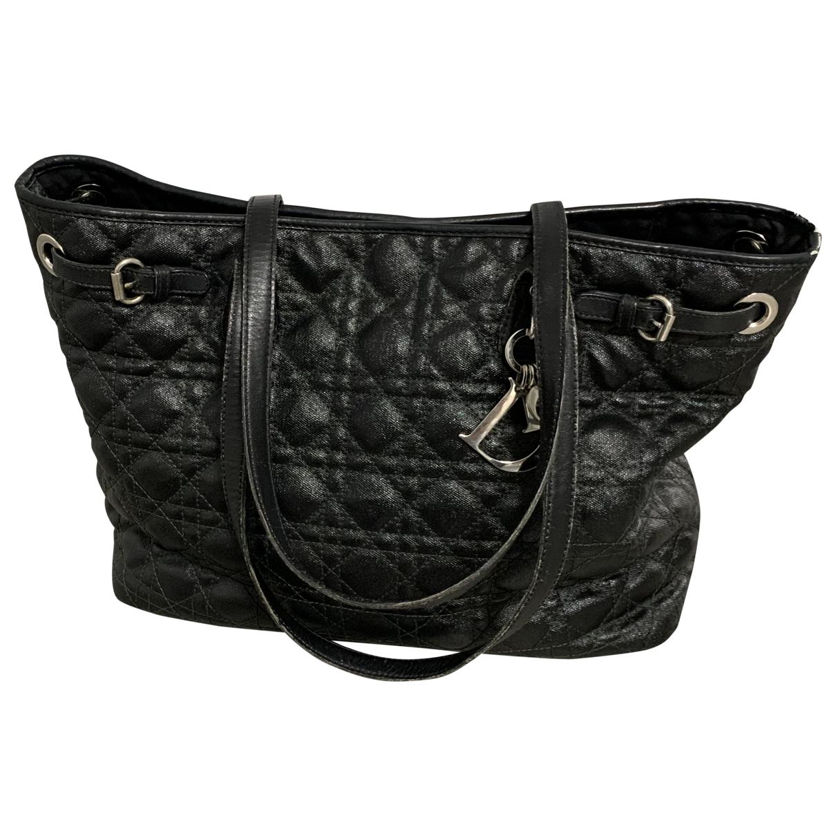 Dior - Sac a main Dior Panarea pour femme en toile - noir