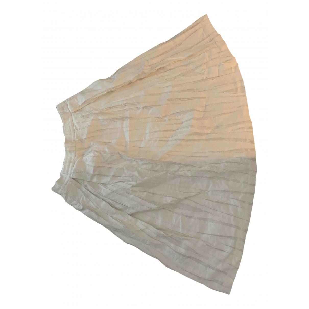 Whistles - Jupe   pour femme en coton - blanc