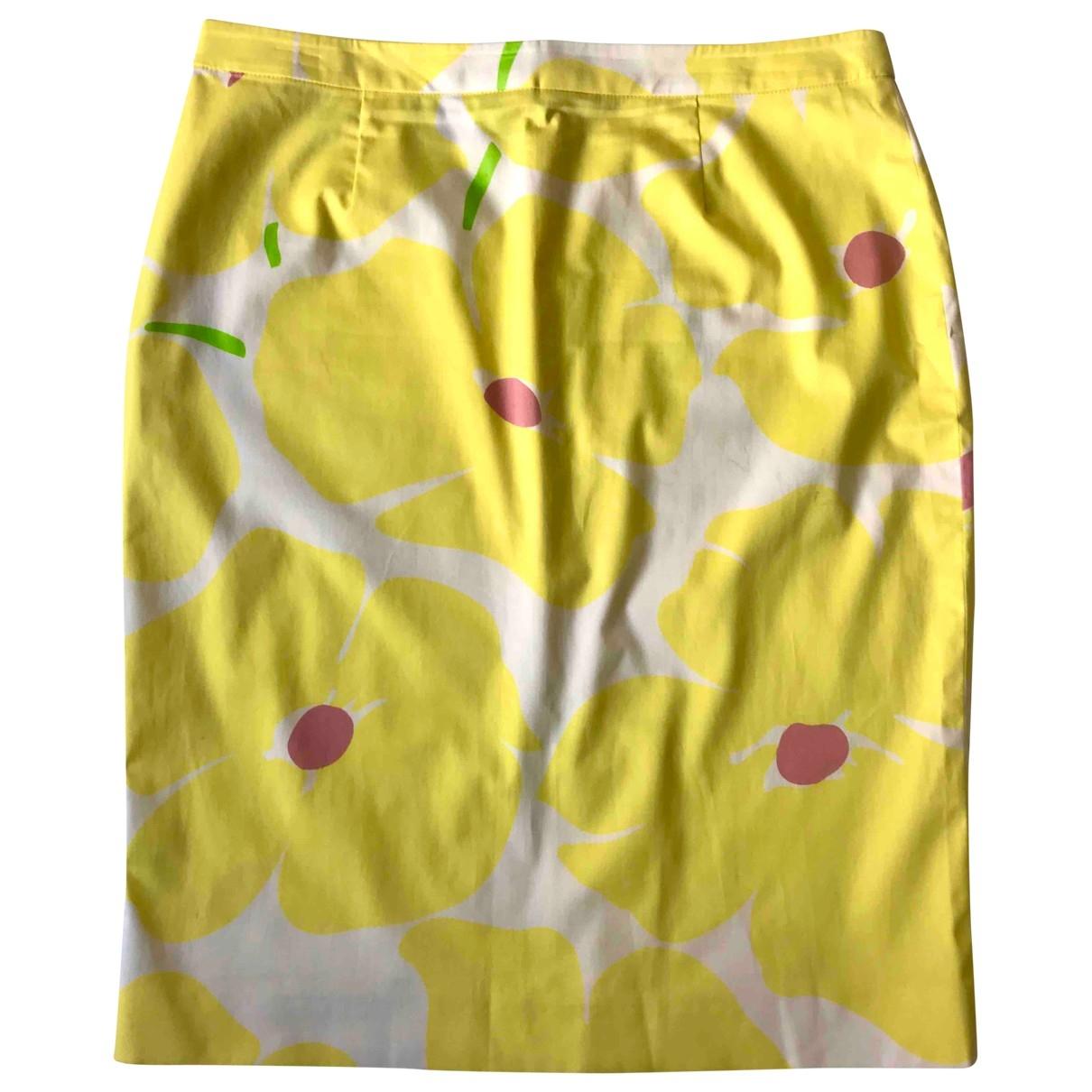 Moschino - Jupe   pour femme en coton - multicolore