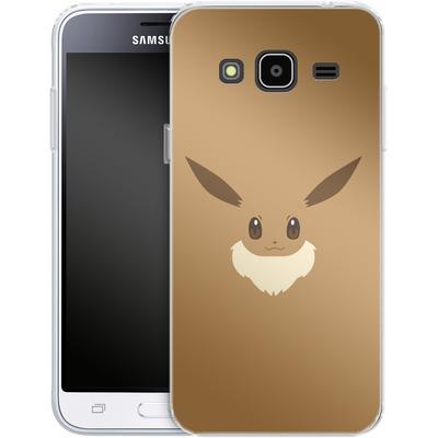 Samsung Galaxy J3 (2016) Silikon Handyhuelle - Eevee by Lucian Foehr von Lucian Foehr