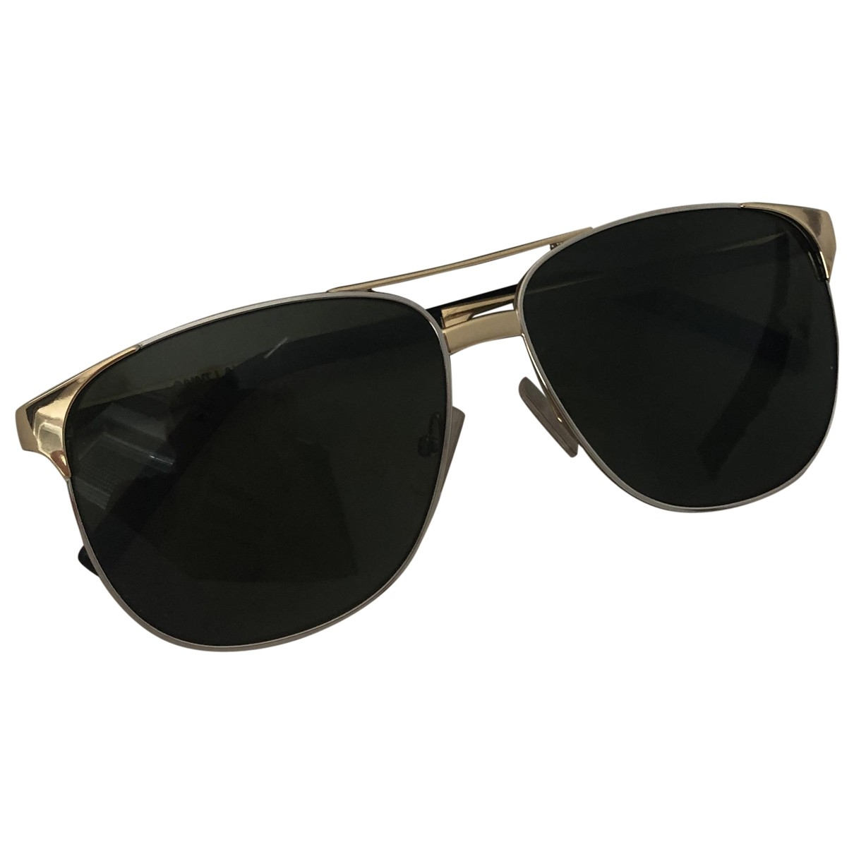 Saint Laurent \N Sonnenbrillen in  Gold Metall